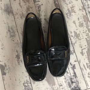 Prada Penny Loafers, vinyl leather